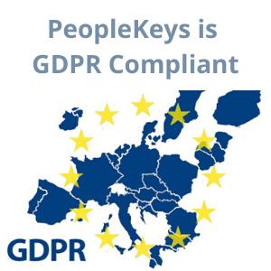 PeopleKeys is GDPR Compliant