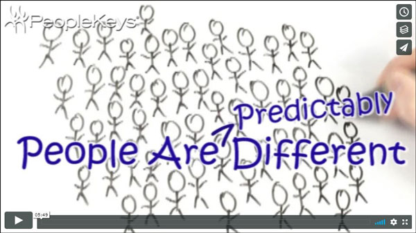 Watch People are predictably different video