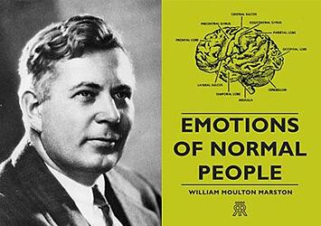 William Moulton Marston and Emotions of Normal People Book
